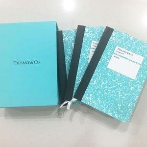 Authentic Tiffany & Co. Mini Notebook Set